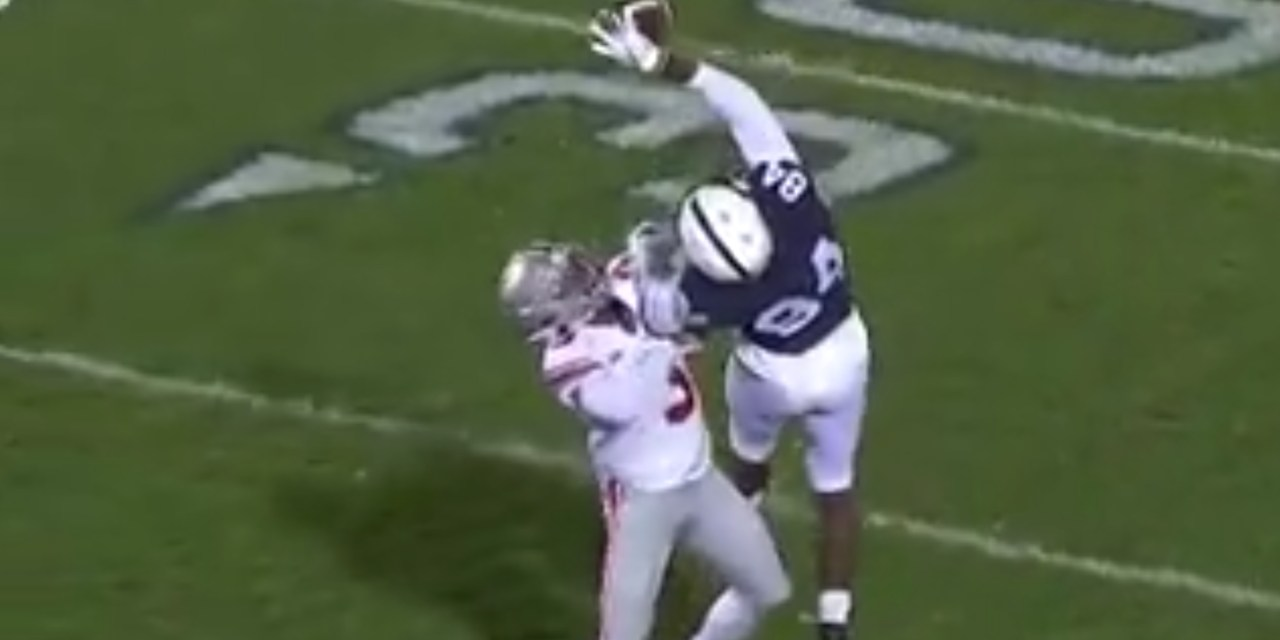 Penn State Receiver Juwan Johnson Made an Incredible One-Handed Catch