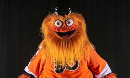 """Flyers Fans are Getting Their New Mascot """"Gritty"""" Tattooed on Them"""