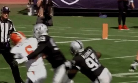 Raiders Defender Called for the Most Absurd Roughing the Passer Penalty in the History of Football