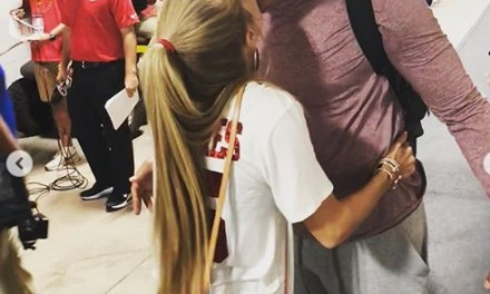 Patrick Mahomes Girlfriend Brittany Matthews Watched Him Get a Comeback Win