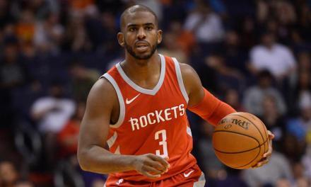 Rockets Point Guard Chris Paul Looks Like He's Already in Mid-Season Form