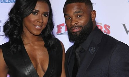 UFC Champ Tyrone Woodley Spotted with Another Woman After Split Rumors with His Wife