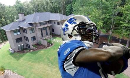 Calvin Johnson Puts his Georgia Mansion on the Market