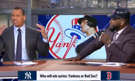 Alex Rodriguez and David Ortiz Place a Bet on Yankees-Red Sox Series