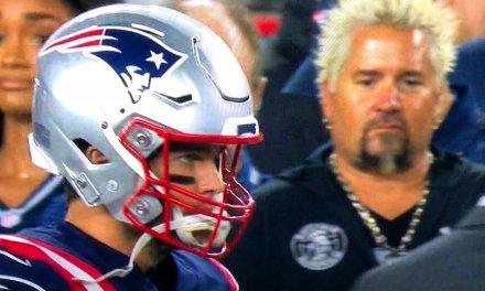 Guy Fieri Spotted On Patriots Sideline