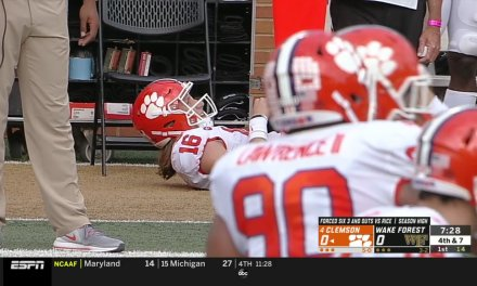 ESPN College Football Analyst Trevor Matich Calls for the Bubble Wrap for Clemson QB Trevor Lawrence