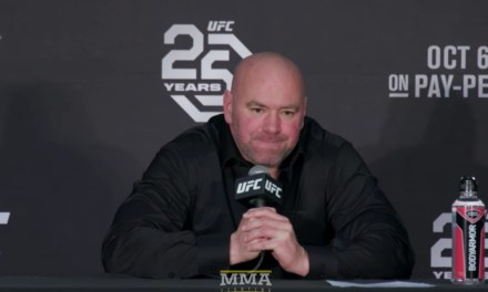 Dana White Reacted to Aftermath of the Khabib-McGregor Title Fight