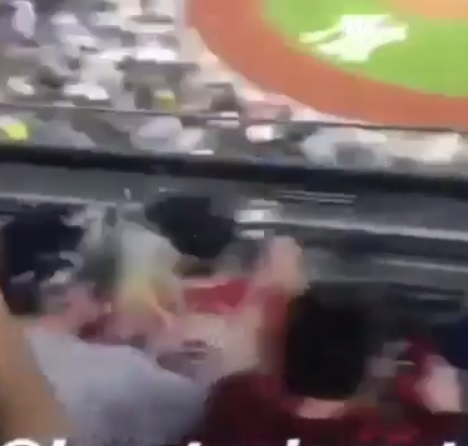 Yankees Fans Pelted Red Sox Fan While Being Eliminated from Playoffs
