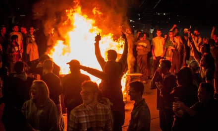 Michigan State Fans Burn Couches and Mattresses after Upsetting Number 8 Penn State