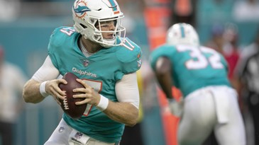 Dolphins QB Ryan Tannehill is a Game Time Decision for Sunday's Game