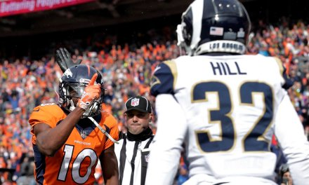Emmanuel Sanders Calls League 'soft' after Taunting Call