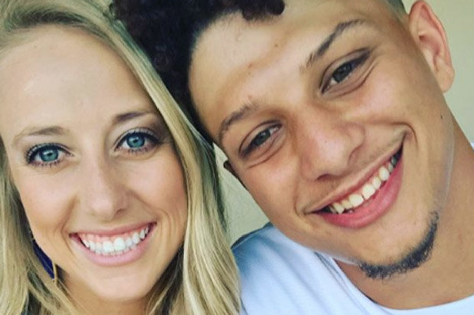 Patrick Mahomes Girlfriend Watched Him Lose His First Game of the Season at Gillette Stadium