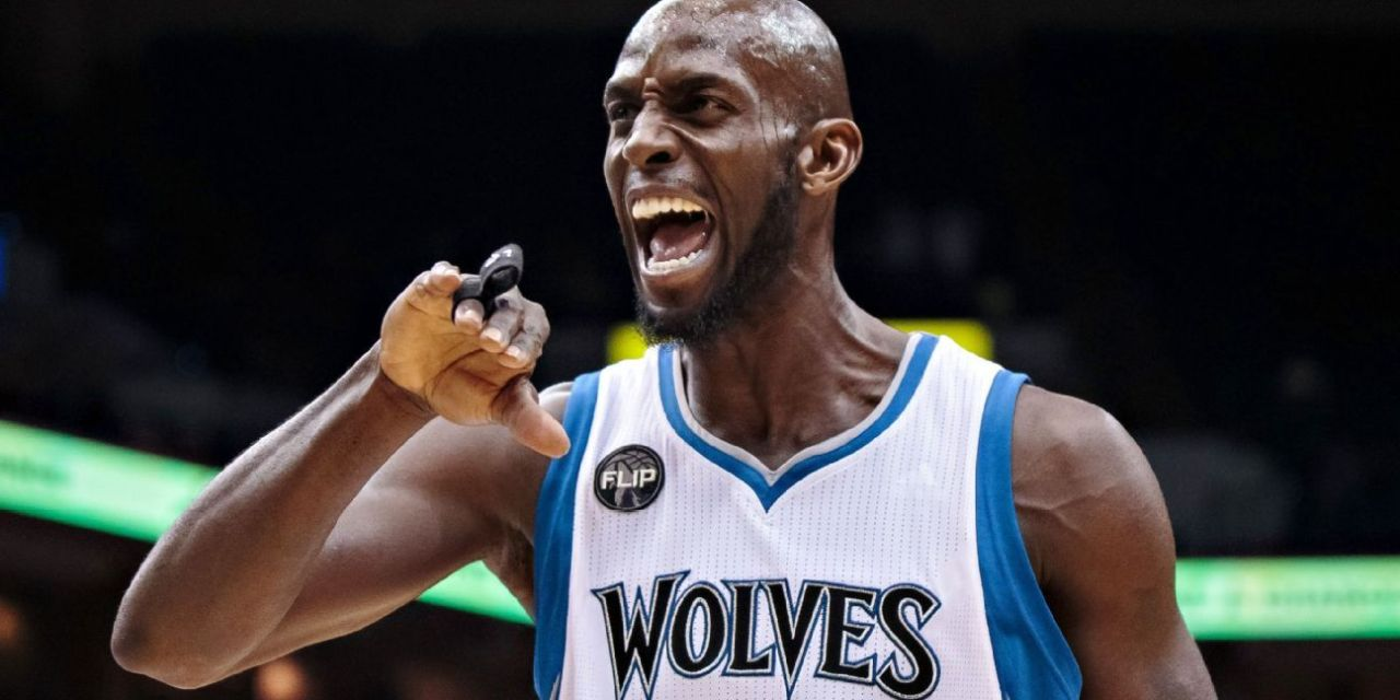 Kevin Garnett Drops an S-Bomb on Live TV When Talking about Glen Taylor