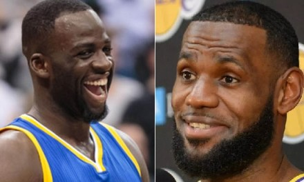 LeBron James Reacts to Draymond Green's Call of Duty Spot