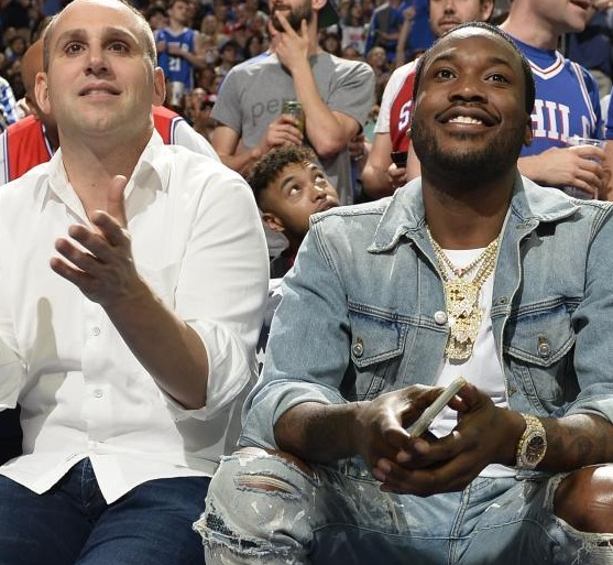 Meek Mill Won a $50k Trick Shot Bet With 76ers Owner Michael Rubin