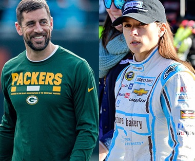 Aaron Rodgers and Danica Patrick are Really Attracted to Each Other