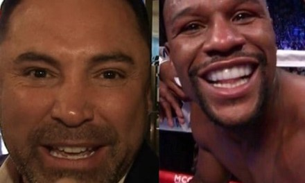 Floyd Mayweather Called Oscar De La Hoya 'Golden Girl' on Instagram and Oscar Has Responded