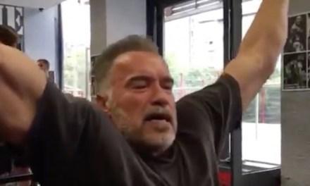 Arnold Schwarzenegger's Pep Talk to LeBron Didn't Work