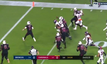Josh Rosen Threw a Pick Six on Thursday Night's Opening Drive