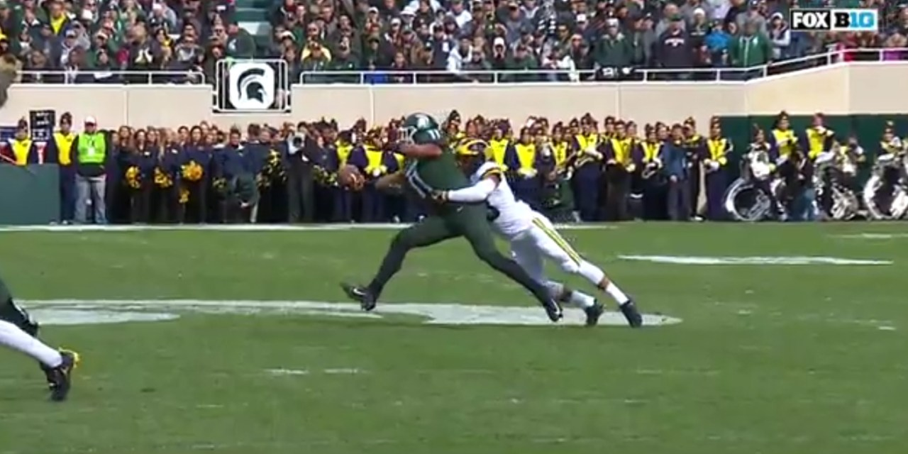Michigan State's Connor Hayward Made a Ridiculous One-Handed Catch