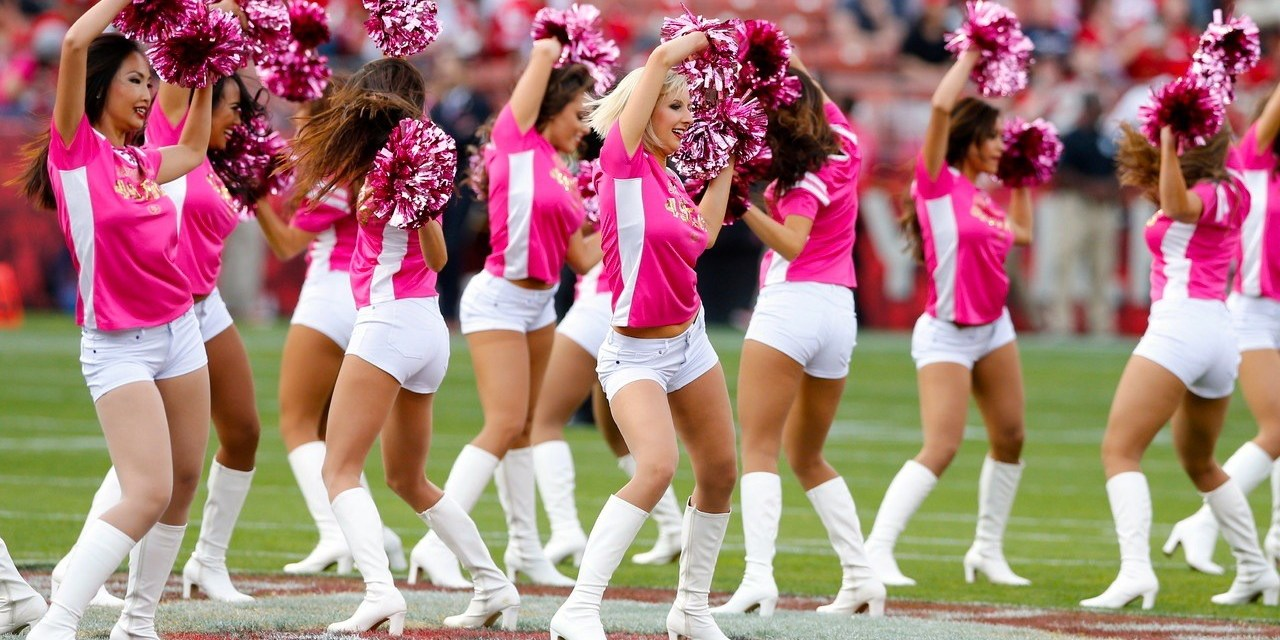 NFL Cheerleaders for Breast Cancer Awareness, Brennah Black is the Ultimate Dodgers Fan & Everything Mark Cuban Does in a Day