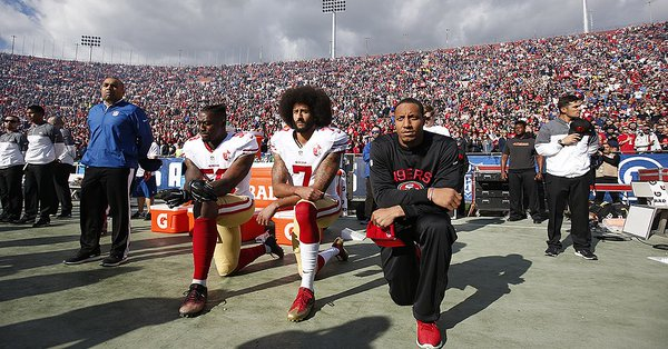 Russian Trolls Drummed up the NFL's Anthem Controversy