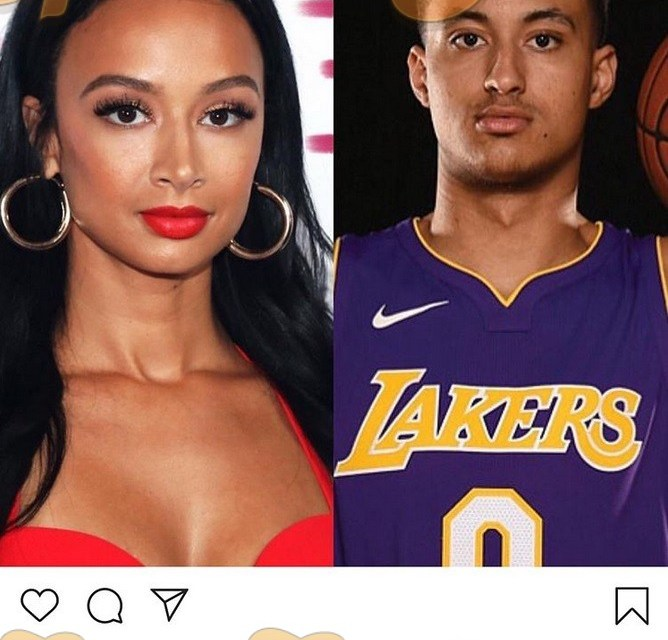 Draya Michelle Asks Kyle Kuzma If They Look Alike