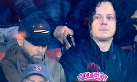 Jack White at the World Series Was a Big Hit