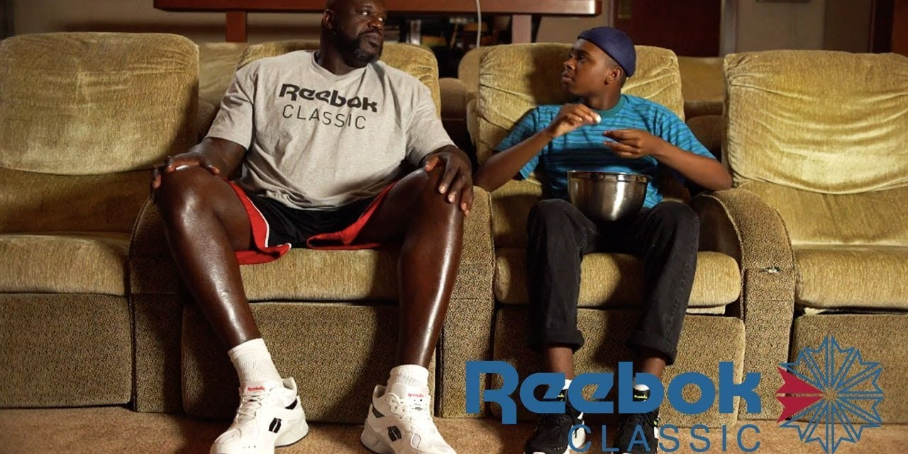 super popular ac66d a107b Shaq and His massive Orlando Mansion in New Reebok Video with Jay Versace