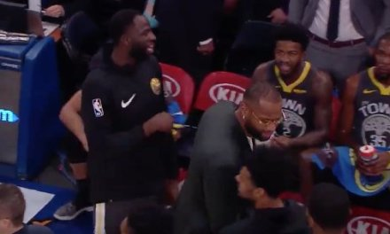 DeMarcus Cousins Gets Ejected Before Ever Playing a Game for the Warriors