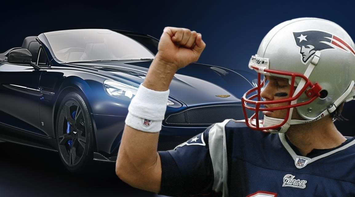 Tom Brady Has His Own Signature Edition Aston Martin and They Sold for $359,950 Each