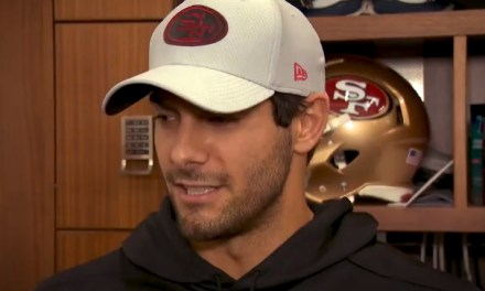 Jimmy Garoppolo Has Come to Terms with 'Freak Accident'