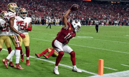 Larry Fitzgerald Threw His Son Under the Bus During Press Conference