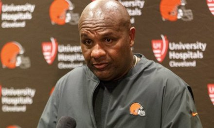 Hue Jackson Gets Fired as the Head Coach of the Cleveland Browns