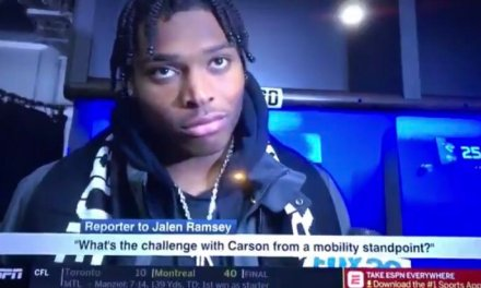 Jalen Ramsey Sounds Defeated in Post Game Interview