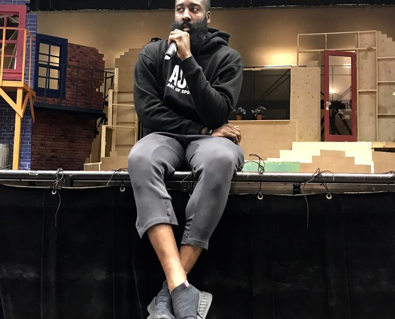 James Harden Gives Drinking and Driving PSA to High School Students