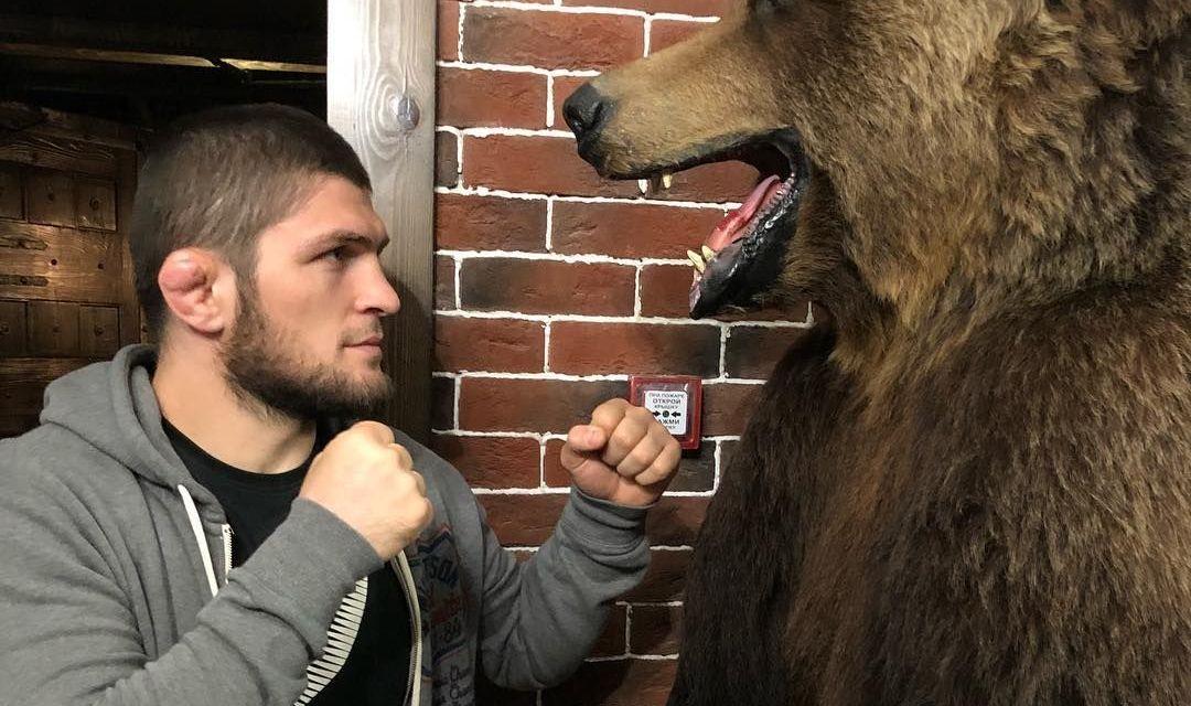 Khabib Nurmagomedov Reflects on Wrestling with Bears