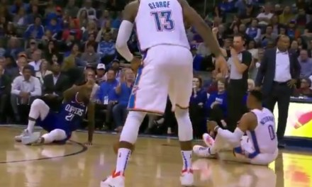 Russell Westbrook and Patrick Beverley Needed Police to Help Keep them Separated