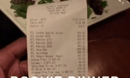 The Packers Racked Up a Bill of Over $9k at Their Annual Rookie Dinner