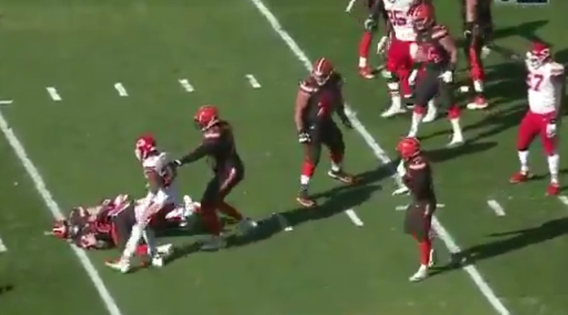 The Browns Aren't Even Trying to Protect Baker Mayfield