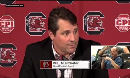 Will Muschamp Didn't Know Tuesday was Election Day