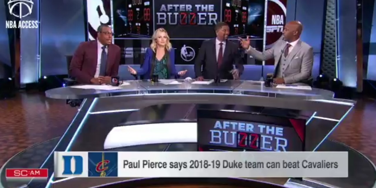 Paul Pierce Thinks Duke Can Beat the Cavs