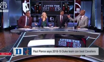 Paul Pierce Thinks Duke Can Beat the Cavs