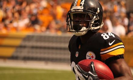 Steelers Antonio Brown Cited for Going 100+ MPH