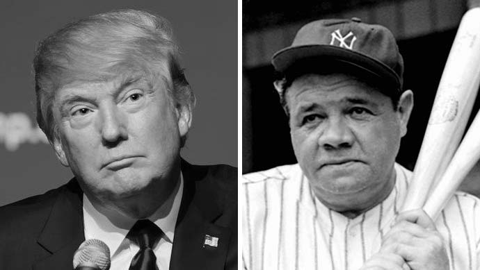 President Trump Chooses Babe Ruth to Receive Presidential Medal of Freedom