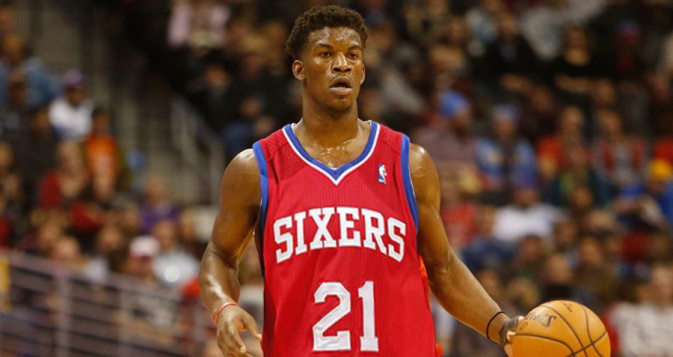 Jimmy Butler On his Way to the Philadelphia Sixers