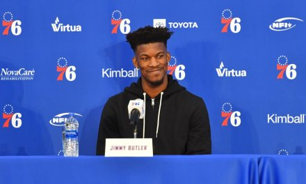 Jimmy Butler Throws Shade at Former T-Wolves Teammates during Sixers Press Conference