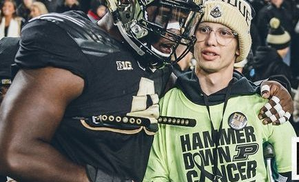 Purdue Super Fan Tyler Trent Gets His Own Bobblehead to Help Cancer Fight