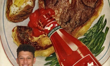 Patrick Mahomes Receiving the Third Degree over his Preference of Ketchup on Certain Foods