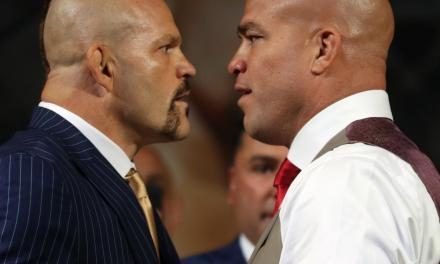 Tito Ortiz Displays a Pre-Fight Shiner Ahead of Fight with Chuck Liddell